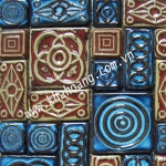 (30x30)Gạch Mosaic Gốm 1044