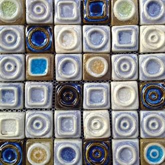 Gạch Mosaic Gốm DR - 55E7 30x30