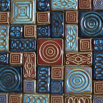 Gạch Mosaic Gốm PR - 1044 30x30