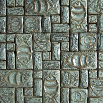 Gạch Mosaic Gốm PR - 1050 30x30