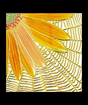 Gạch Trang Trí nhủ vàng, bạc 355-1G 30x30
