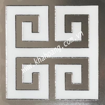 (30x30)Gạch Trang Trí nhủ bạc 38138