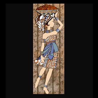 Tranh (60x180)CASTILA LADY