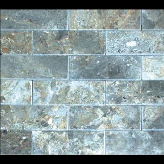 Đá Trang Trí D43-44 Mài bóng vàng bông 7.5x20