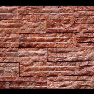 Đá Trang Trí Đá chẻ hồng đậm 10x20 - 5x20