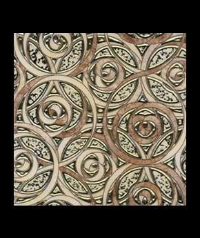 Gạch Trang Trí nhủ vàng, bạc XMF0643-3B 30x30