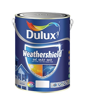 Sơn Ngoại Thất Dulux Weathershield Bề Mặt Mờ
